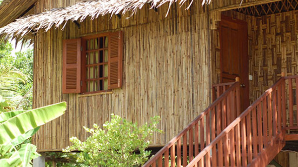 Nature Friendly Bamboo House Design: Accommodation Services At Palm Village